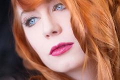 Beauty Schmuck Portrait Red Hair Rote Haare
