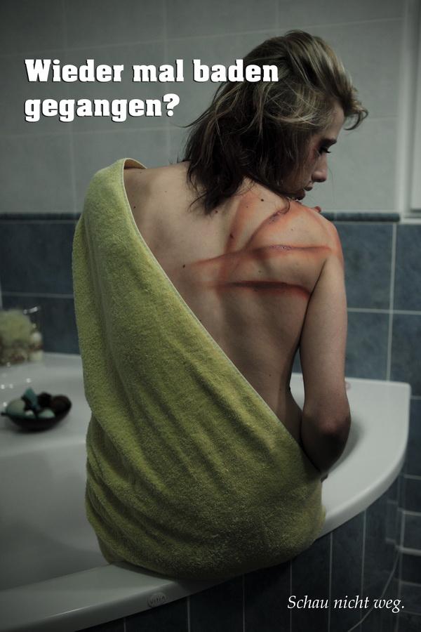 Häusliche Gewalt Keine Gewalt gegen Frauen No Violence Merlin1 Shooting