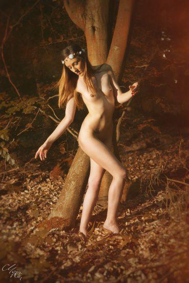 Nude-Akt