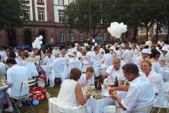 Dinner in Weiß - Diner en Blanc Darmstadt