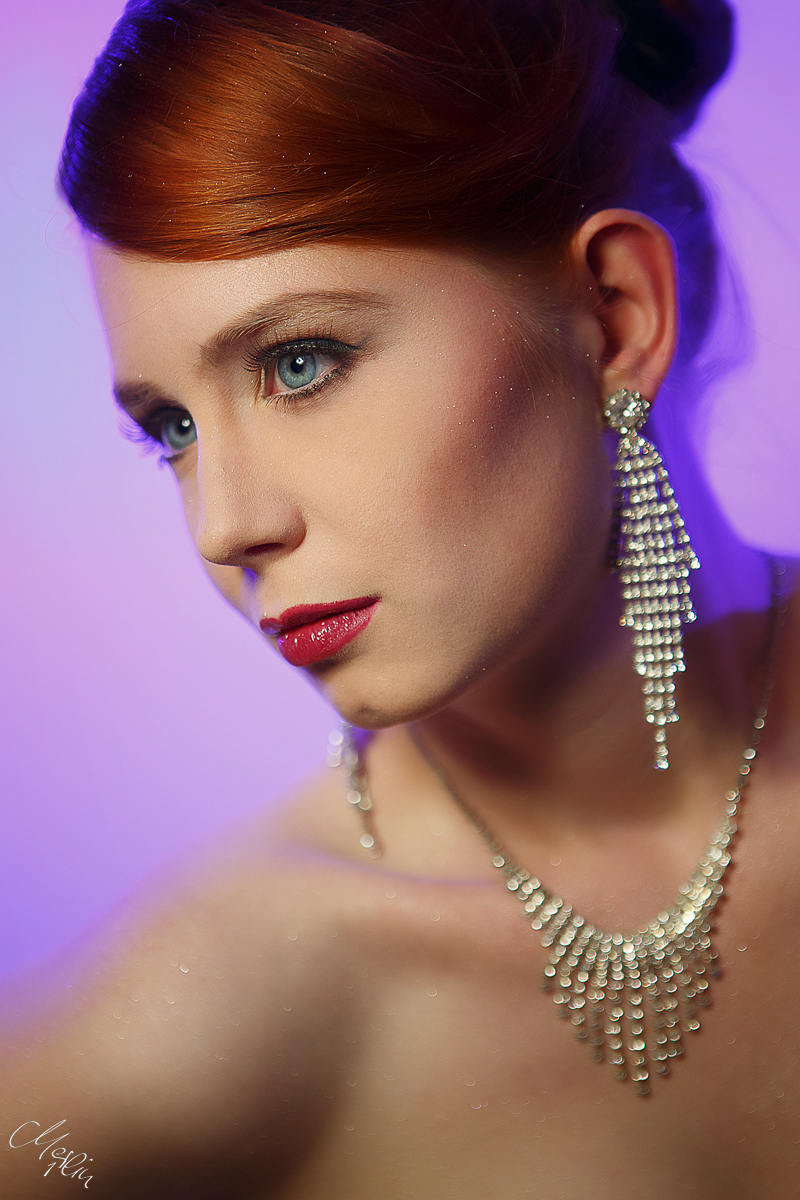 Beauty Schmuck Portrait