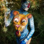Safari Bodypainting